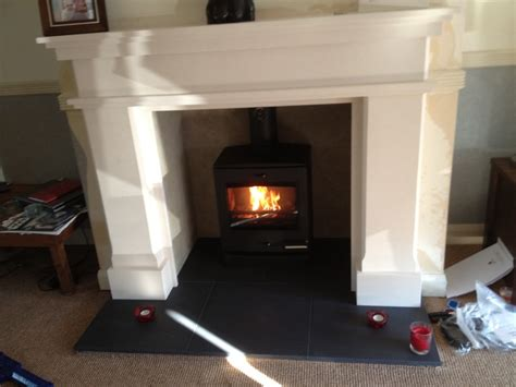 Fitting Multi Fuel Stove Existing Fireplace by Portfolio The Barn