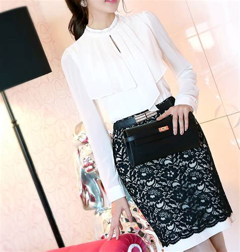 Saskia Blouse Pakaian Wanita Pakaian Modis Supplier Pakaian blouse wanita import lengan panjang cantik model terbaru
