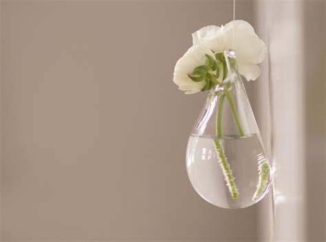 wedding decor hanging glass vase clear glass vase wedding