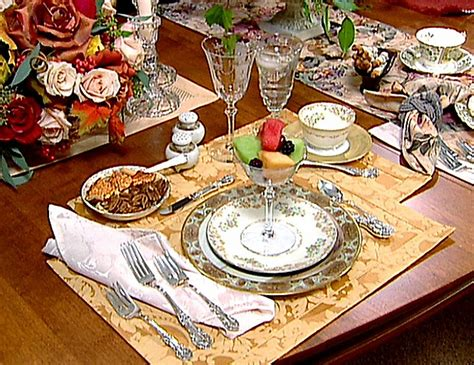 Formal Breakfast Table Setting House Of Decor Formal Table Setting