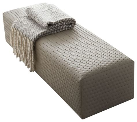modern bed bench air bed bench modern upholstered benches by inmod