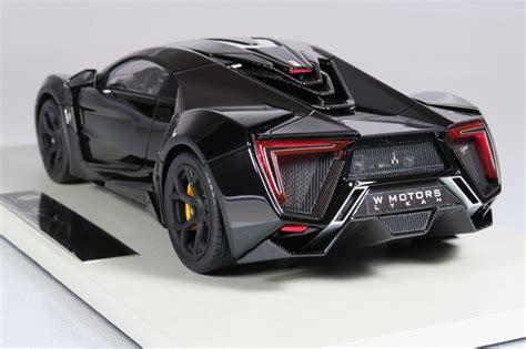 lykan hypersport black top marques collectibles lykan hypersport 1 18 black top30c
