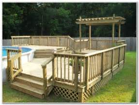 pool decks pool decks for above ground pools pictures decks home