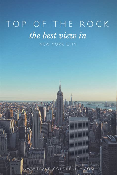 5 Delicious Nyc Stuff To Soak Up by Top Of The Rock The Best View In New York City