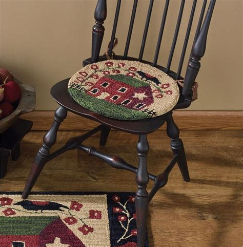 artist punches in chair 186 best rug hooked chair pad images on