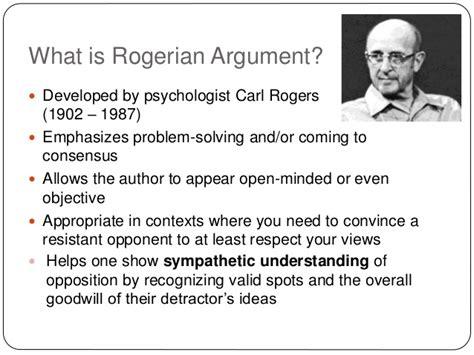 Rogerian Argument Essay by Rogerian Argument