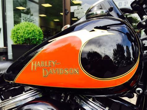 Motorrad Chromteile Lackieren by Harley Davidson Koblenz Flsts Springer Classic Vintage