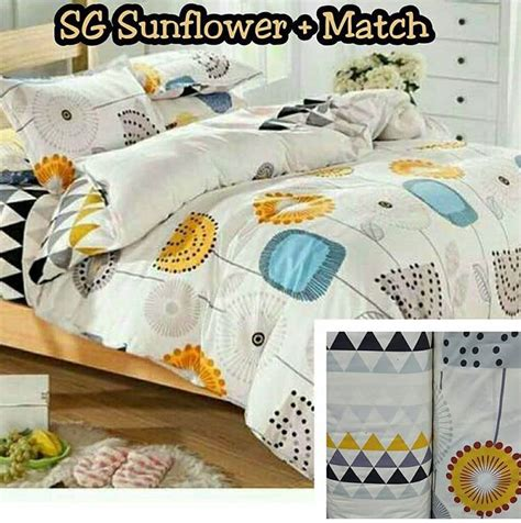 Harga Sprei Merk Grow detail product sprei dan bedcover sunflower toko bunda