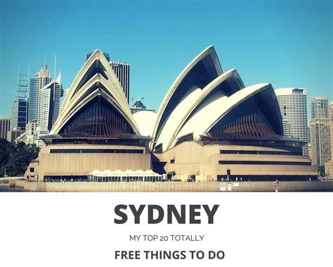sydney top 20 free things to do footloose freya