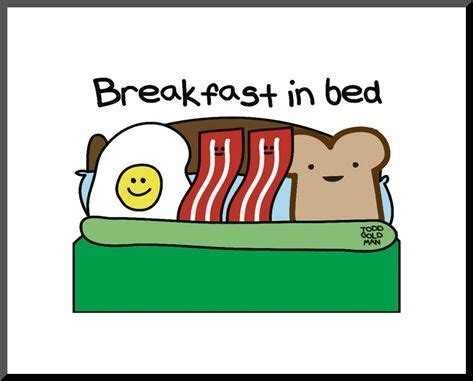 breakfast in bed puns and breakfast on pinterest