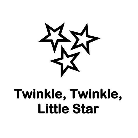 twinkle twinkle little star 0785326936 twinkle twinkle little star songsheet singing hands