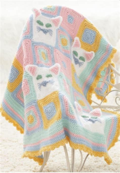 pattern for cat afghan cat lady afghan allfreecrochetafghanpatterns com