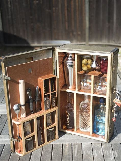 awesome portable bars ideas    gin  love gin