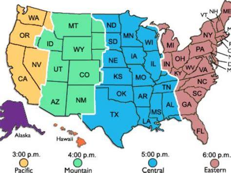 printable us map of time zones time zone map usa printable