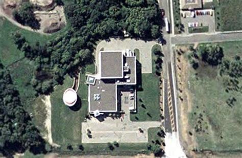 Prince House Chanhassen by Paisley Park Studios Princes Recording Studio Chanhassen Minnesota Usa Aerial View