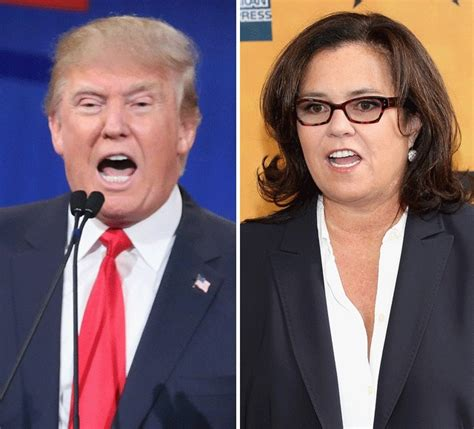 Donald Writes Rosie Odonnell A Letter by Donald Disses Rosie O Donnell In Gop Debate See