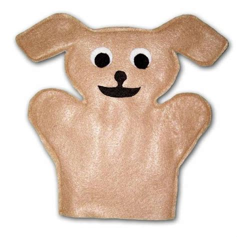 puppy dog hand puppet sewing pattern sew your own