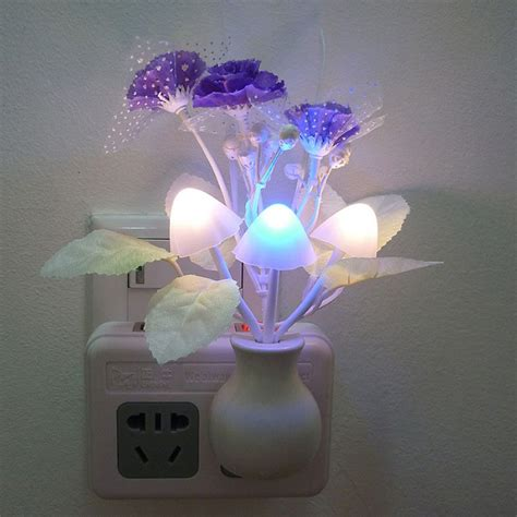 colored night light bulbs radiant nickel led coverlite night light led ge night