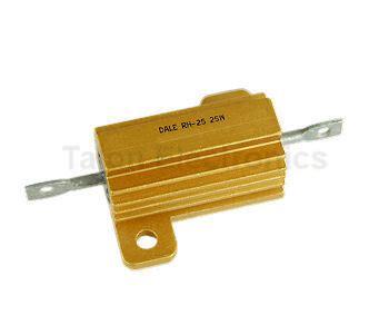 dale rh resistors 5 ohm 25 watt 1 resistor dale rh 25