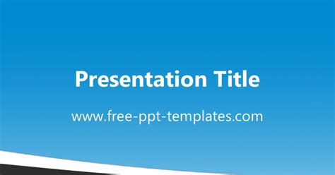 Blue Grey Ppt Template 4 H Powerpoint Template