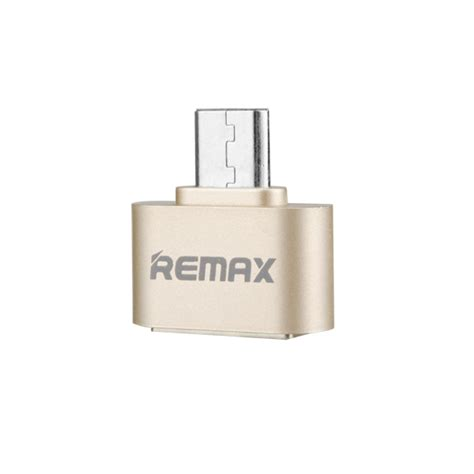 Otg Converter Micro To Usb Remax remax otg micro to usb adapter smart connection kit