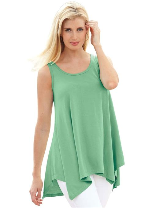 Blouse Jesica Tunic Tunik tunic top with sharktail plus size tops clothing of all kinds