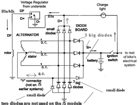 what does a diode trio do in an alternator stranding alternator failure page 2 xweb forums