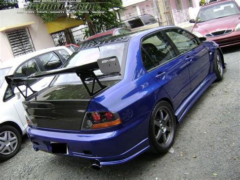 mitsubishi lancer evo modified image gallery evo 7 specs