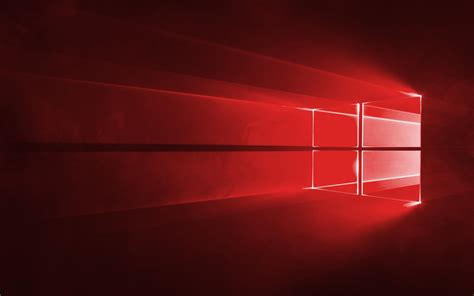 Wallpaper Windows Red | red windows 10 wallpaper 37885