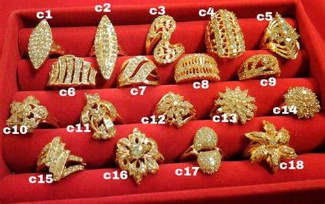 Cincin Xuping Lapis Emas Permata C 1410 dinomarket pasardino cincin lapis emas permata sirkon bakar