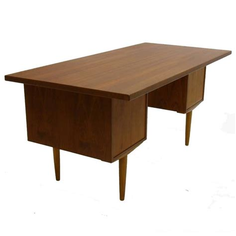 sleek desk excellent sleek and functional arne vodder teak desk with