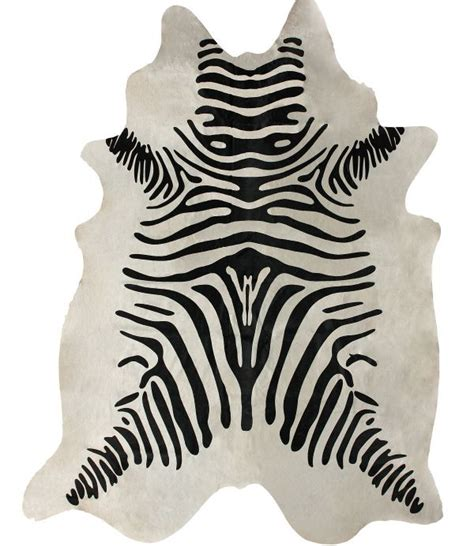 zebra cowhide rug rugs usa silk screen zebra cowhide white rug