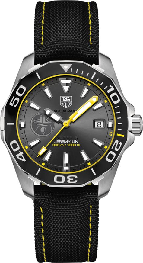 Jam Tangan Tagheuer Aquaracer Cal 5 Silver Black tag heuer aquaracer way211f fc6362 41mm special edition mens brand new