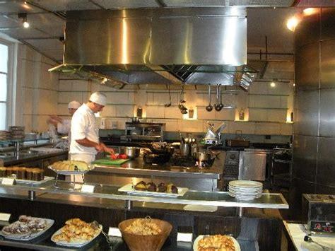 Open kitchen in main restaurant   Picture of Park Hyatt