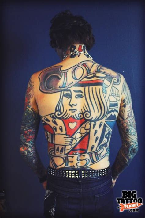 josh todd tattoos skin josh todd of buckcherry colour