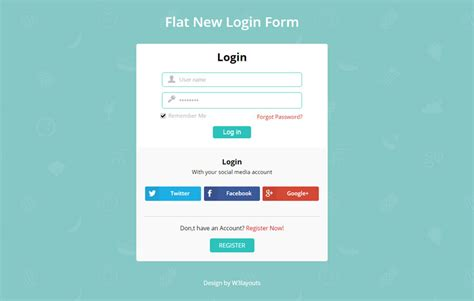 jquery mobile login template gallery templates design ideas