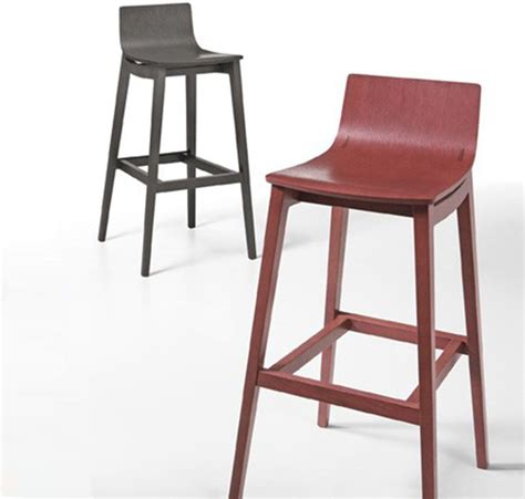 designer kitchen bar stools modern solid wood bar stool by infiniti design