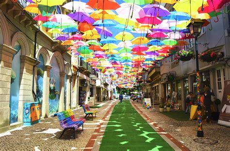 umbrella sky  rise  art festival pittsburgh post