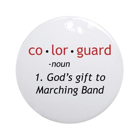 color guard definition definition of colorguard ornament by marchingstuff