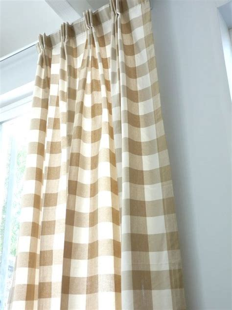 brown buffalo check curtains 1000 images about curtains on pinterest arched window