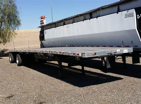 flat bed trailers for sale 2019 manac 48 x 102 quot combo flatbed for sale chandler