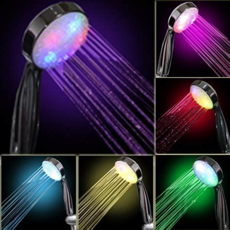 Shower With Colored Lights shower heads a flow 5 function luxury 4 dual shower