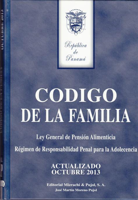 libro el codigo de la biblioteca isae universidad catalog images for c 243 digo de la familia ley 3 del 17 de mayo de