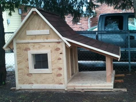Kids Homemade Dog House Choncho Pinterest