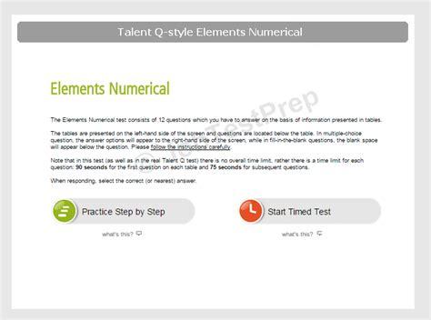 citi numerical test  assessment centre practice