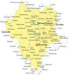 Durango Mexico Map by Borderland Beat 10 Die In Durango State