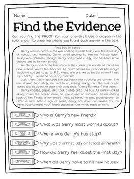 Cite Textual Evidence Worksheet by M 225 S De 1000 Ideas Sobre Text Evidence En