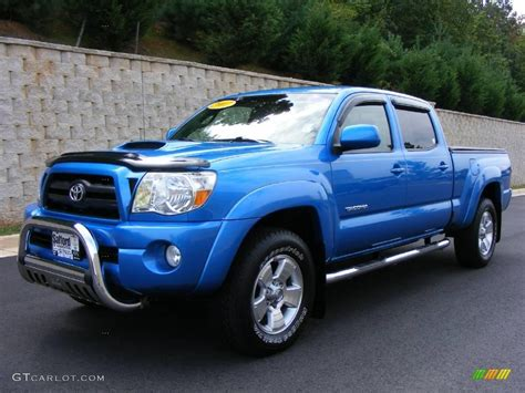 Blue Toyota Toyota Tacoma Speedway Blue Paint Code