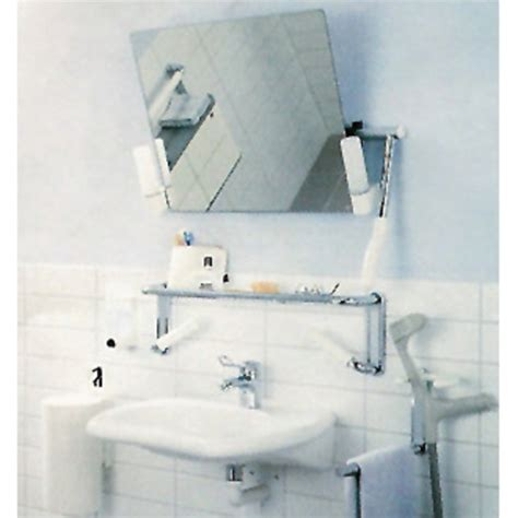 hafele hewi lifesystem adjustable bathroom mirrors