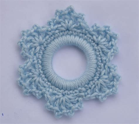 crochet snowflake pattern worsted weight yarn 1000 images about crochet napkin rings on pinterest